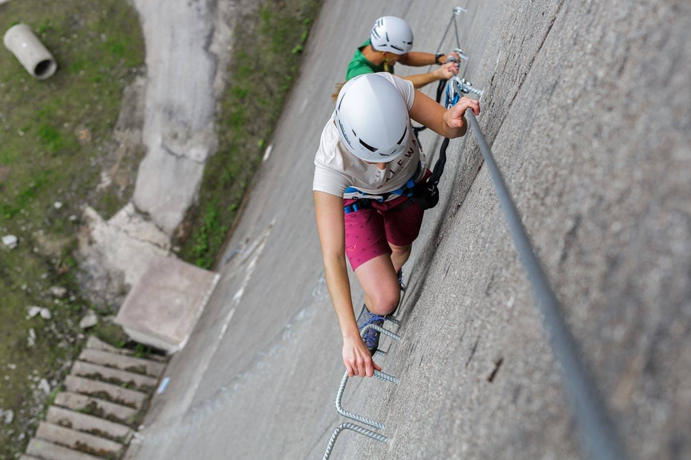 Klettersteigset Leihen : Klettersteig #schlegeis 131 mountainshop hörhager
