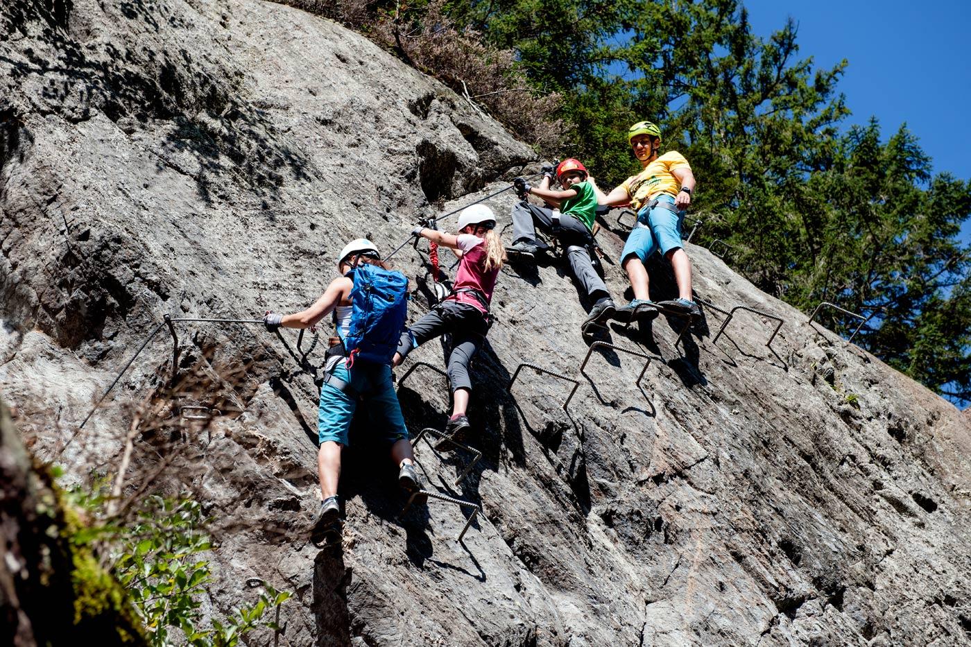 Klettersteigset Leihen : Klettersteig zimmereben mountainshop hörhager